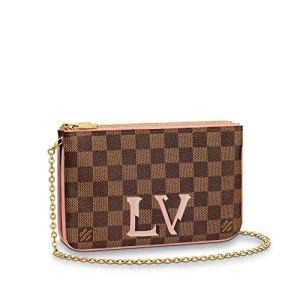 Louis Vuitton Pochette Double Zip Crossbody Bags Purse Handbags 28