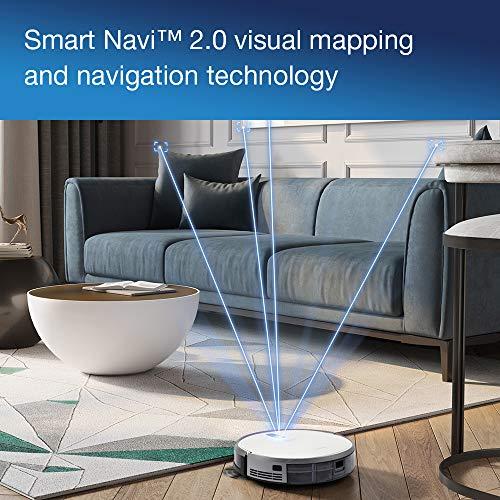 51pxzUfoHfL [Bon Plan Ecovacs] ECOVACS DEEBOT 710 – Aspirateur robot avec technologie de cartographie – Pour sols durs et tapis – Aspirateur sans fil programmable via smartphone et compatible avec Amazon Alexa