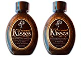 2 Ed Hardy Coconut Kisses Skin Softening Golden Indoor UV Bed Tanning Lotion