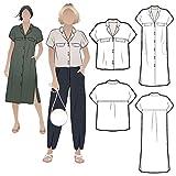 Style Arc Patrn de costura  Monty camisa y vestido (tallas 04-16)  Clic para otros tamaos...