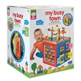 Alex Discover My Busy Town Wooden Activity Cube Kids Art and Craft Activity