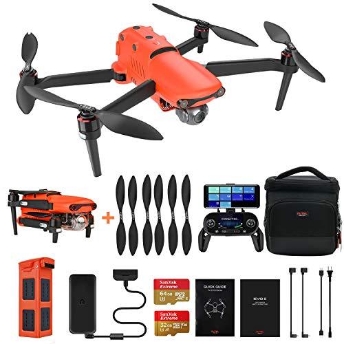 Autel Robotics EVO 2 Drone con Fotocamera 8K Quadricottero Pieghevole (2021 Pi Recente)