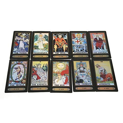 Hilitand Tarot Cards,Tarot Cards Deck Vintage 78 Cards Rider...