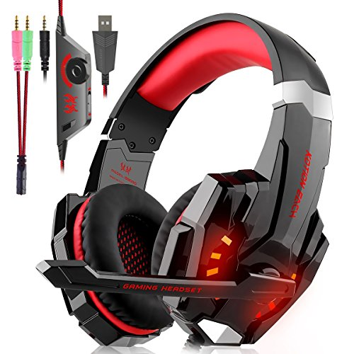 Cuffie Gaming per PS4, Cuffie Over Ear Cuffie...