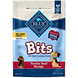 Blue Buffalo Blue Bits Natural Soft-Moist Training Dog Treats, Beef Recipe 19-oz Bag