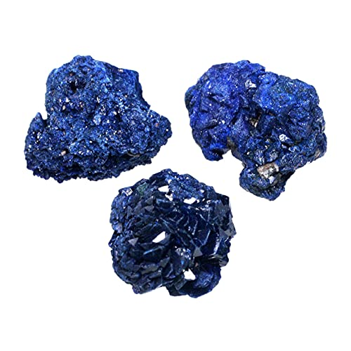 Azurite Healing Crystals - 3 x Mini Rosettes