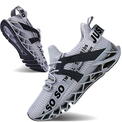 Mens Running Shoes Non Slip Athletic Walking Blade Type Sneakers...
