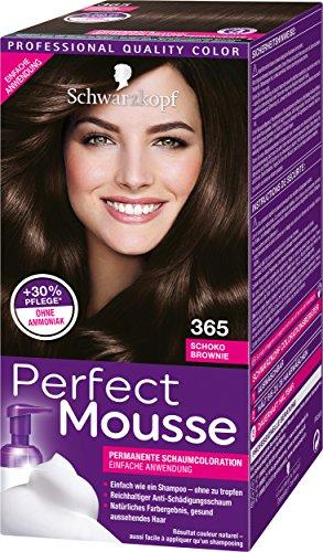 Perfect Mousse Tinte permanente 650,3unidades, (3 x 93ml)