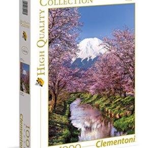 Clementoni- Puzzle 1000 Piezas Montaña Fuji (39418.0)