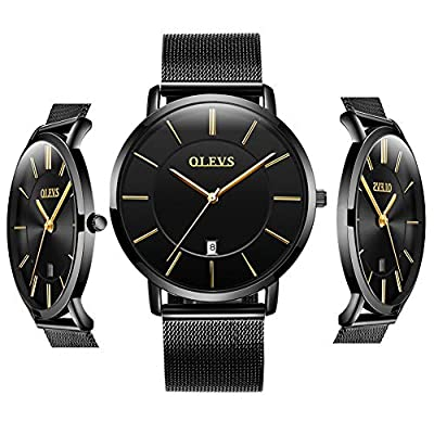 【Fashion and classic style】Precisely time running and easy to read the time,easy to adjust the strap length and feel comfortable to wear on wrist. Watch have minimalist and elegant design with exquisite workmanship,to stand the test of time,this is t...