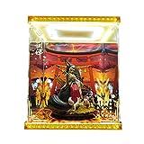 Onmyoji Miyazumi SSR Dio di Wish Modello Display LED Light Box Telaio a Mano del PVC Figura Modello GK la Scatola di Copertura Antipolvere 34 Centimetri * 27 Centimetri * Altezza 36 Centimetri