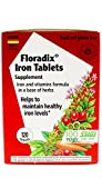 Floradix Tablets Iron Supplement 120Count XL Size - Supports Red Blood Cell Formation - Vegetarian, No Constipation, Non-GMO