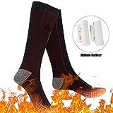 Chaussettes Chauffantes Électriques Rechargeables avec 3 Fichiers de...
