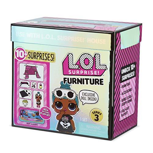 Image 5 - LOL Surprise Poupées collectionnables pour filles - Avec 10 surprises et accessoires - Sleepy Bones - Mobilier Series 3