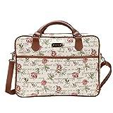 Signare Tapiz Funda portatil 15.6 Pulgadas Funda Ordenador 14 Pulgadas Funda Ordenador maletin portatil con diseño de Jane Austen (Rosa)