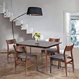 KARMAS PRODUCT 5 Pieces Table and Chairs Set for 4 Person Wooden Tables for Dining Room