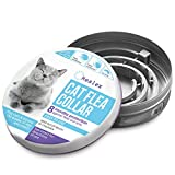 Healex Cat Flea Collar | Collars Work for Cats and Kittens, Prevents Reinfection | Helpful E-Book Included
