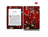 Elton 3M Vinyl Skin Decal Sticker Protective for Kindle Paperwhite eBook Reader Wrap Cover Skin - Red Almond Trees