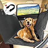 KYG Cubierta de Asientos de Coche Impermeable para Perros Protector de Mascotas Funda de Asientos Antideslizante y Comodo Manta Animal de Coche para Coche Camión SUV para Viajes