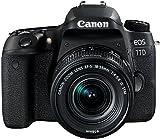 Canon EOS 77D Reflex Numérique + EFS 1855mm F/45,6 IS STM Noir