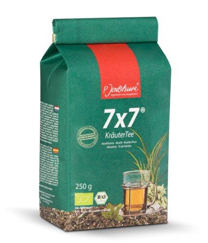 Jetzt NEU: Jentschura 7x7 KräuterTee 250 g in Bio-Qualität (2 x WurzelKraft fruchtig/würzig à 10 g gratis)