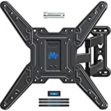 Mounting Dream TV Wall Mounts TV Bracket for Most 26-55' TVs, TV Mount with Perfect Center Design, UL listed, Full Motion TV Wall Mount with Swivel Articulating Arm, Max VESA 400x400mm, MD2413-MX