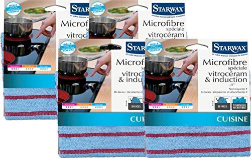 Starway 634502 - Microfibra vitrocerámica e inducción dobl