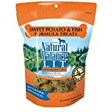 Natural Balance L.I.T. Limited Ingredient Treats Dog Treats, Sweet Potato & Fish Formula, 14 Ounce Bag, Grain Free