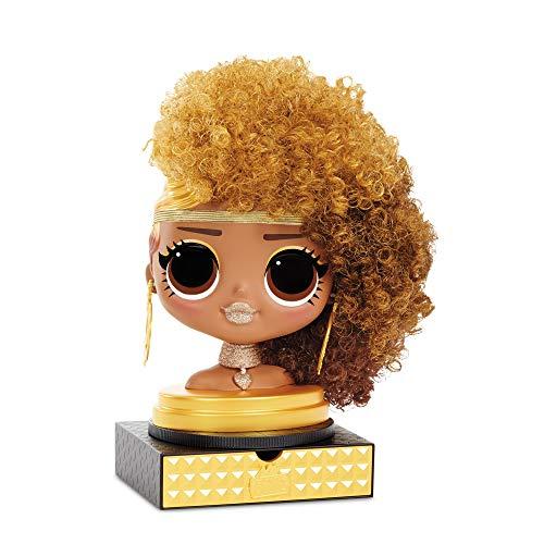 Image 2 - LOL Surprise Tête à coiffer OMG avec perruques aux coiffures infinies - 30 surprises et accessoires - Royal Bee