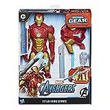 Marvel Avengers, Figurine Iron Man Titan Hero Blast Gear, 30 cm