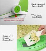 Fully-Enclosed-Litter-Box-Flip-Coverlarge-Cat-Toilet-Splash-Proof-Suitable-for-Pet-CatsGray