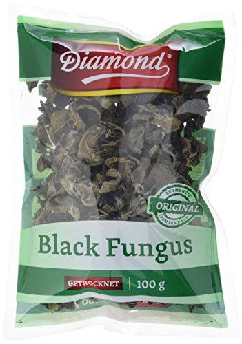 Diamond Mu Err Pilze / Black Fungus, getrocknet, 100g, 2er Pack (2 x 100 g Packung)