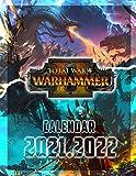 Total War WARHAMMER II: 2021 – 2022 Games Calendar – 18 months – High Quality Images