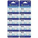 ACT Lot de 20 piles bouton AG13/LR44/A76/L1154/SR44/G13 357 1,5 V