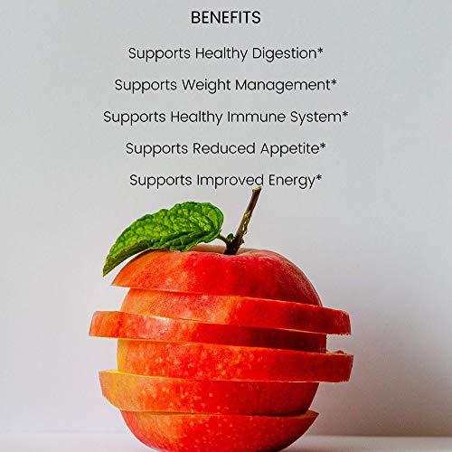 Apple Cider Vinegar Gummies with Mother - All Natural, GMO-Free, Vegan Apple Cider Vinegar Capsules for Increased Energy, Weight Management, Improved Digestion, Detox & More- 60 ACV DR. Gummies 6