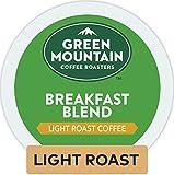 Green Mountain Coffee Roasters Breakfast Blend Single-Serve Keurig K-Cup Pods, Light Roast Coffee, 72 Count