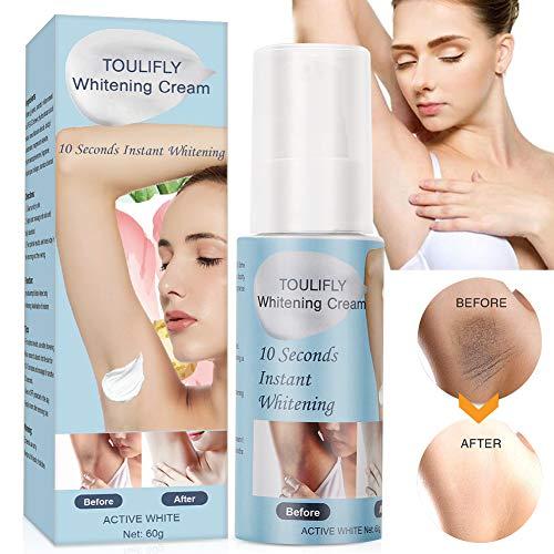 Underarm Whitening Cream,Skin Whitening Cream,Body Brightening Cream for Armpit Knees Elbows Private Sensitive Areas Whitening Nourishes