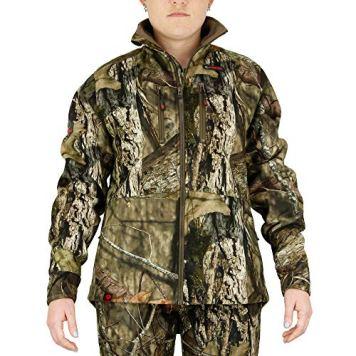 Mossy Oak Womens Hunting Jacket, Camo Jacket for Women, Sherpa Apparel