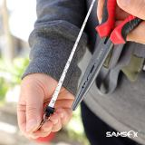 SAMSFX Fly Fishing Carabiner Tape Measure Zinger Retractor (Carabiner Tape Measure Zinger 1PC)