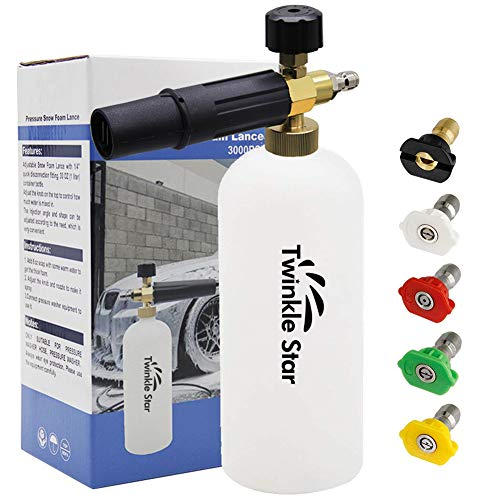 best pressure washer foam cannon 2020 reviews & Guide {must watch}