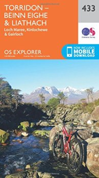 OS Explorer Map (433) Torridon - Beinn Eighe and Liathach (OS Explorer Paper Map)