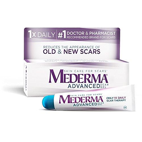 Mederma Advanced Scar Gel - 1x Daily: Use less,...