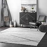 nuLOOM Thigpen Contemporary Area Rug, 4' x 6', Grey