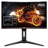 AOC - C24G1 - Ecran PC Gaming- 24' - 144Hz - 1ms - Freesync - Ajustable en Hauteur - FullHD 1920 x 1080 - Noir