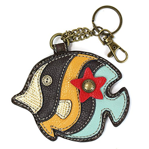 Chala Detachable Coin Purse Key Fob