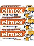 Elmex Kinder-Zahnpasta, 3er Pack (3 x 50 ml)