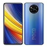 POCO X3 Pro Smartphone RAM 8 GB ROM 256 GB 120 Hz 6,67'FHD + LCD DotDisplay Qualcomm® SnapdragonTM 860, 5160 mAh (typ) Batteria 48MP Fotocamera Blu [Versione globale]