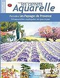 Les carnets aquarelle n°17: Peindre Les Paysages de Provence - 14 aquarelles expliquées...