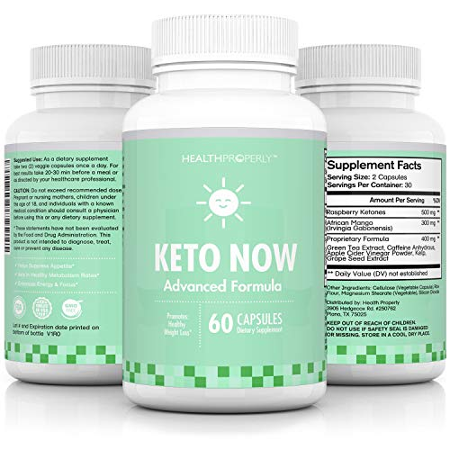 Keto Diet Pills | #1 Appetite Suppressant Pills for Weight Loss | Scientifically Formulated to Burn Fat & Enhance Metabolism | Premium BHB Salts & Exogenous Ketones |