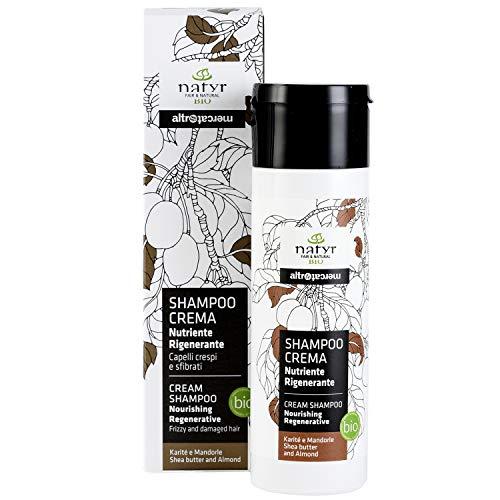 Natyr Bio Locken-Shampoo mit Sheabutter und Mandelöl 200 ml - die Nr.1...